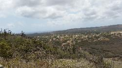 Scenic View of Northern Bonaire Island - View from Seru Largo on the top of a Hill