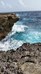 Scenic Views of Washington Slagbaai National Park in Northwest Bonaire - A Beach Scenery