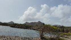 Scenic Views of Washington Slagbaai National Park in Northwest Bonaire - Scenic View of a Lake Reserve