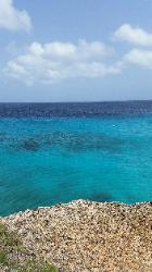 Scenic Views of Washington Slagbaai National Park in Northwest Bonaire - Scenic Beach View from Reina Maxima Marine Reserve