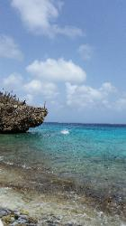 Scenic Views of Washington Slagbaai National Park in Northwest Bonaire - Scenic Beach Next to Reina Maxima Marine Reserve