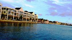 Scenic Views from Klein Bonaire & Bonaire Shores - A View of Capital Kralendijk Downtown from Shores of Scenic Bonaire