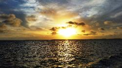Scenic Views from Klein Bonaire & Bonaire Shores - A View of Sunset on July 12, 2020, from Shores of Scenic Bonaire