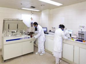 Endocrinology Lab at MIOT Hospitals in Chennai, Tamil Nadu, affiliated to International University School of Medicine (IUSOM), which also has a Branch Campus, namely, IUSOM - Michigan Clinical Campus in Dearborn, Michigan, USA