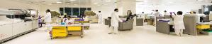 Advanced Laboratory in Institute of Cancer Cure at MIOT Hospitals in Chennai, Tamil Nadu, India, affiliated to International University School of Medicine (IUSOM), which also has a Branch Campus, namely, IUSOM - Michigan Clinical Campus in Dearborn, Michigan, USA